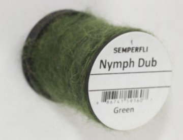 Semperfli Nymph Dub Green