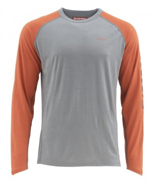 Simms Ultra-Wool Core Top Simms Orange UTGÅENDE