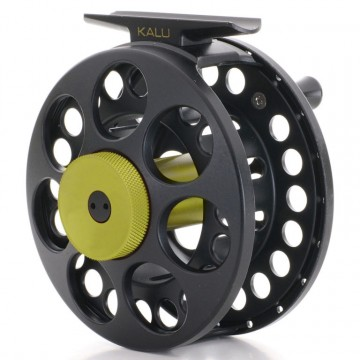 Vision Kalu reel Black/green 34