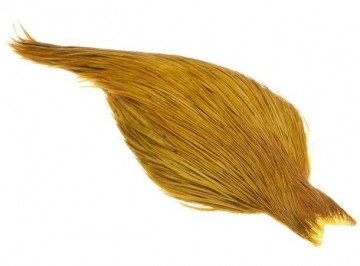 Whiting Rooster dry fly capes bronze golden olive