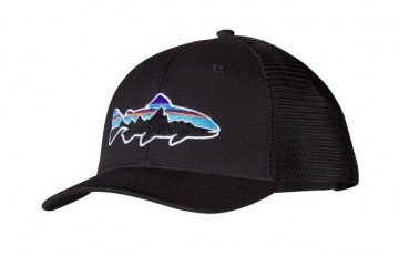 Patagonia Fitz Roy Trout Trucker Hat - Black