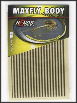 Hends Mayfly Body Small 32 Beige/Brown