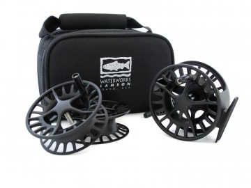 WW-L Lamson Liquid Black 4 (Reel with 2 spare spools) UTGÅENDE