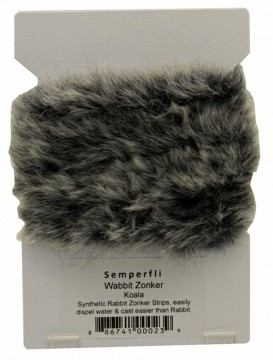 Semperfli synthetic rabbit zonker - koala