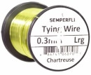 Semperfli wire 0,3 mm Chartreuse