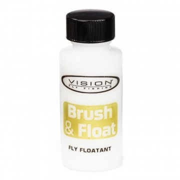 Brush and Float tørrfluepulver